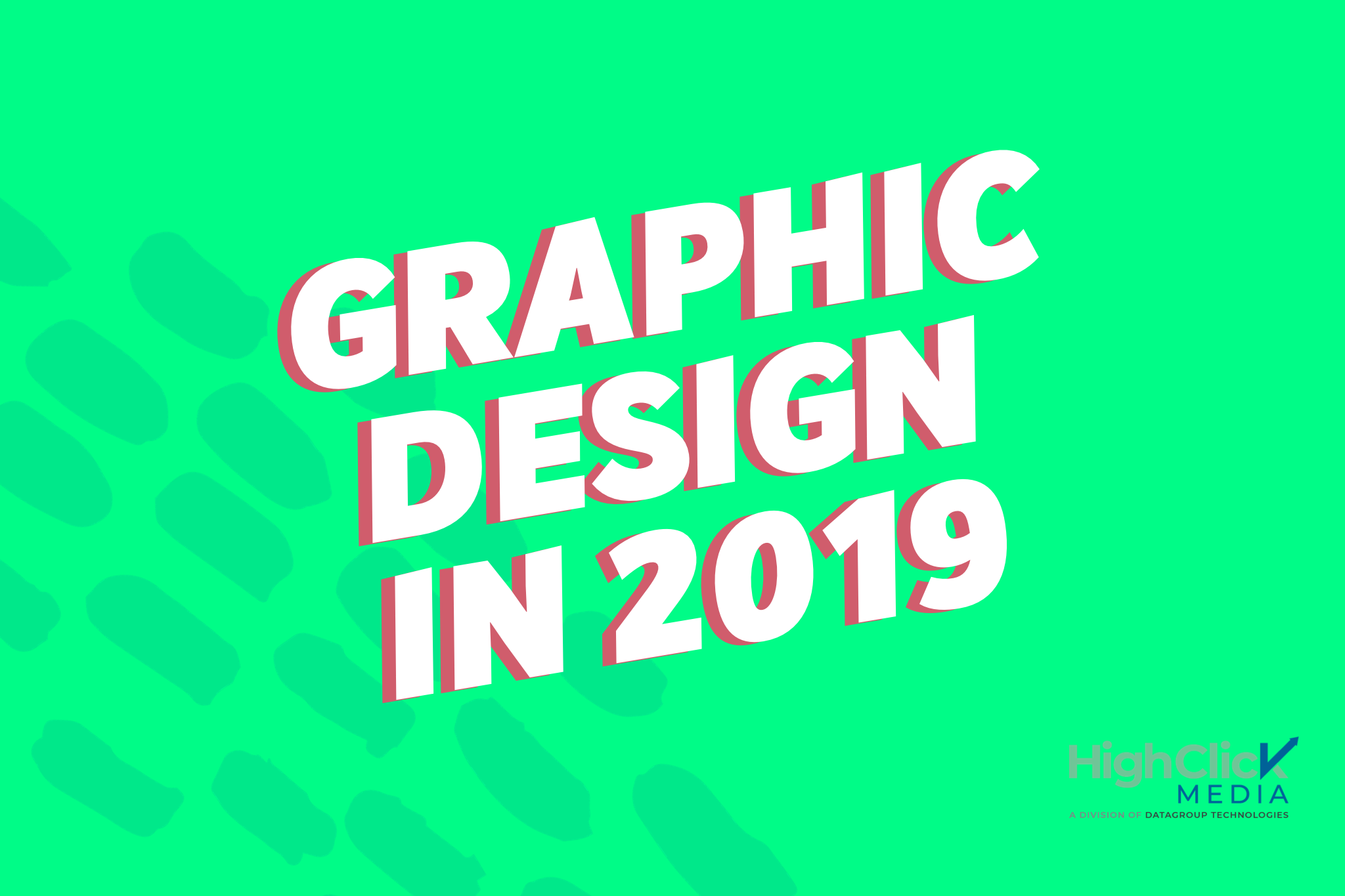 graphic design in 2019