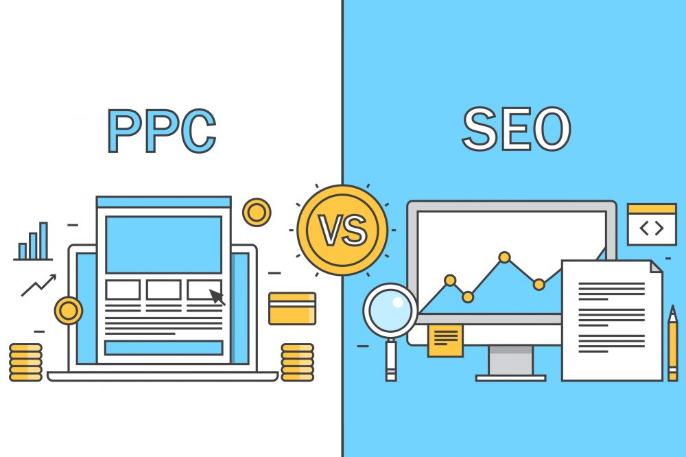 learn the difference between PPC and SEO and implement campaigns that can help increase your websites visibility