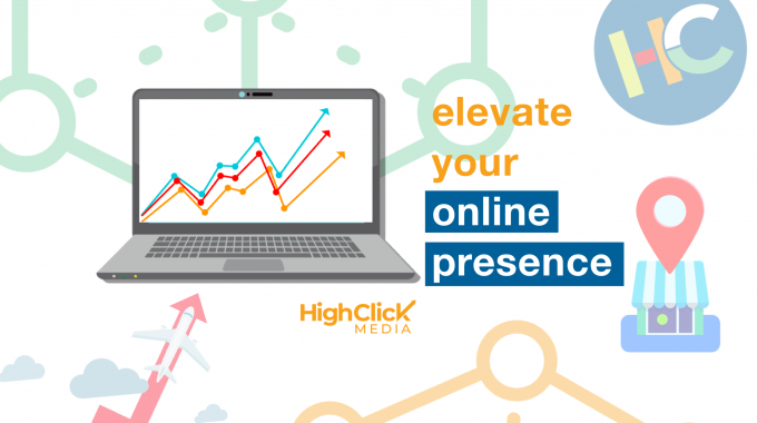 A Blog Image Of A Website On A Laptop Increasing Digital Marketing Presence