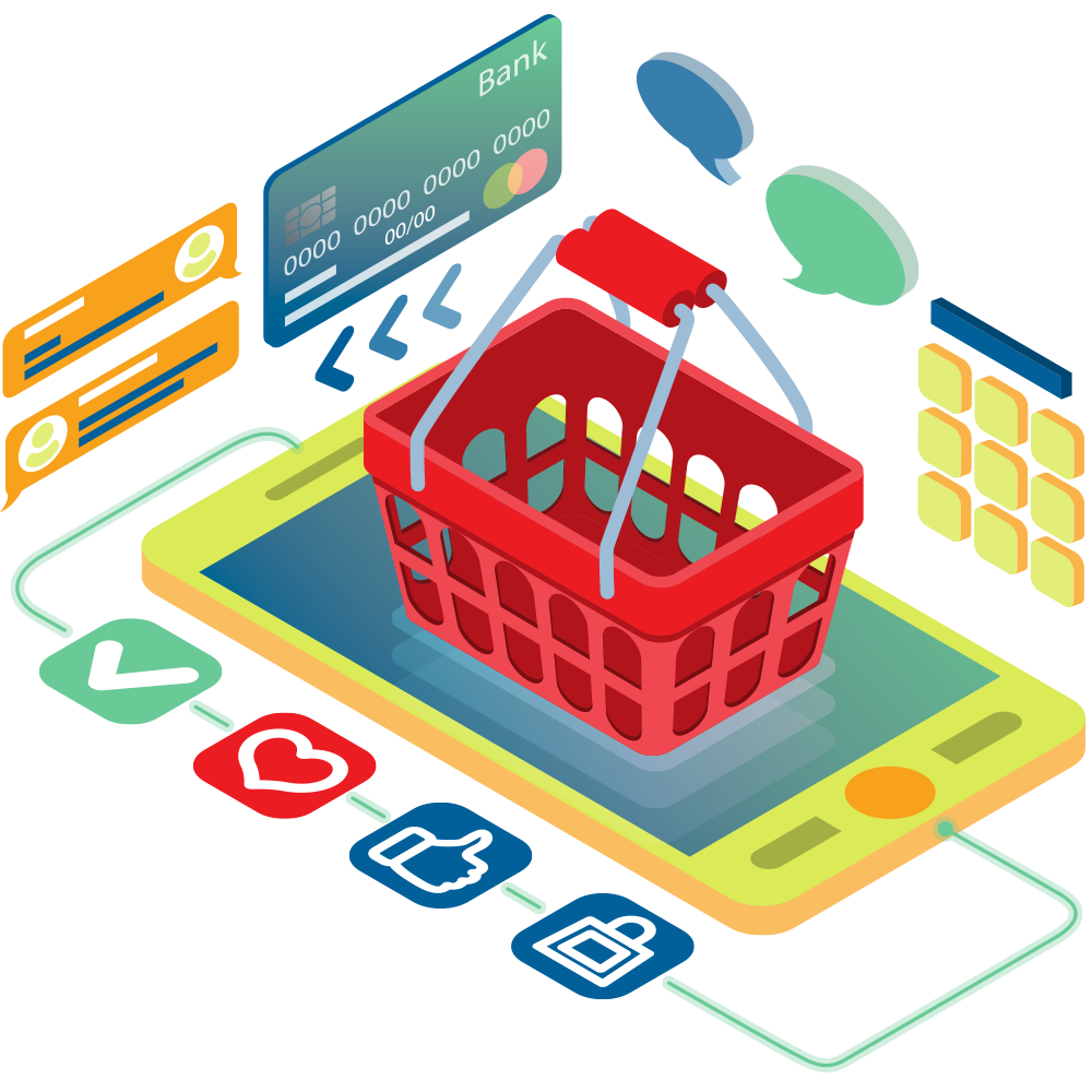 take your brick and mortar store online with ecommerce store web design services and point-of-sale integration services
