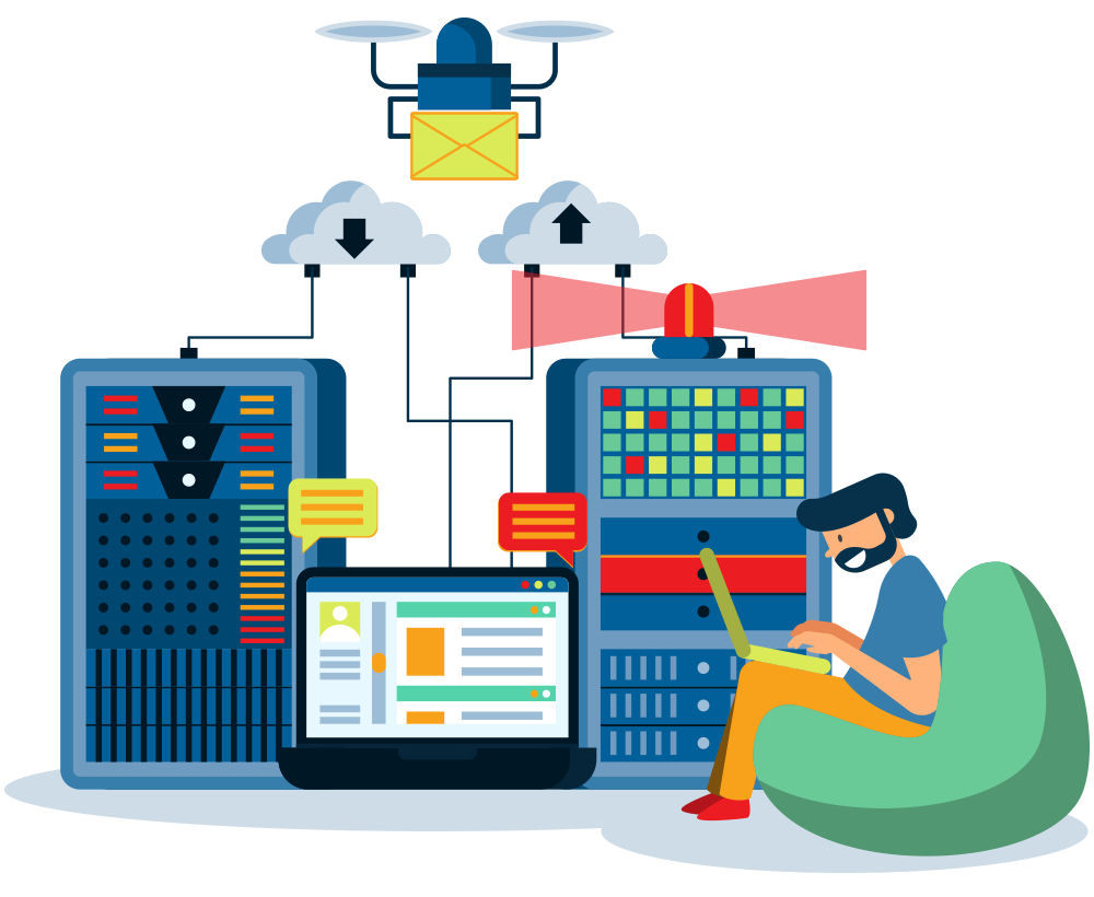 web hosting services and website support services provided by local company where you can chat with a real person and not an automated line