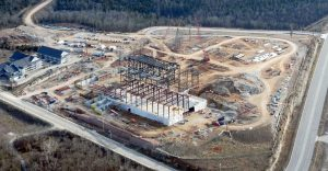 drone photography for commercial construction companies highclick media greenville, nc