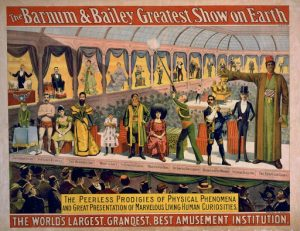Barnum & Bailey Greatest Show On Earth Shameless Self Promotion
