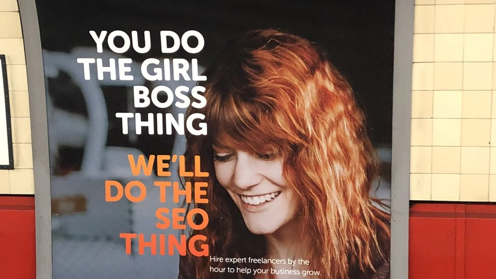 PeoplePerHour Controversial Ad You Do The Girl Boss Thing Well Do The SEO Thing
